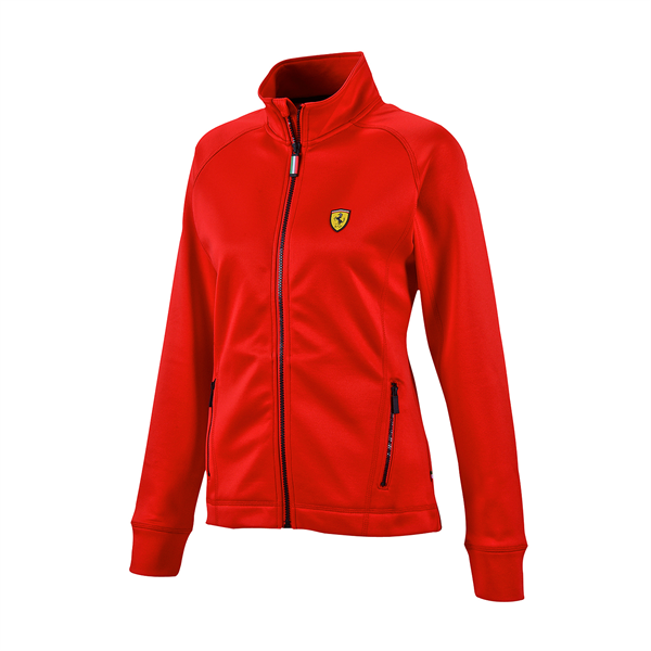 Ferrari F1 Team Ladies Powerstretch Sweatshirt Red