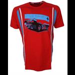 Tričko Ferrari 12H Sebring S/S červené