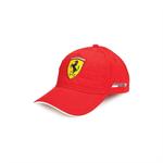Šiltovka Scuderia Ferrari Quilt Stiched červená