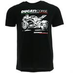Tričko Ducati Photo čierne