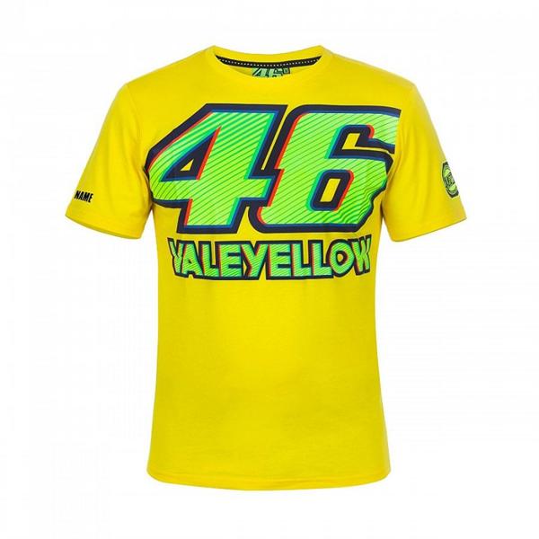 Pánske tričko Valentino Rossi žlté