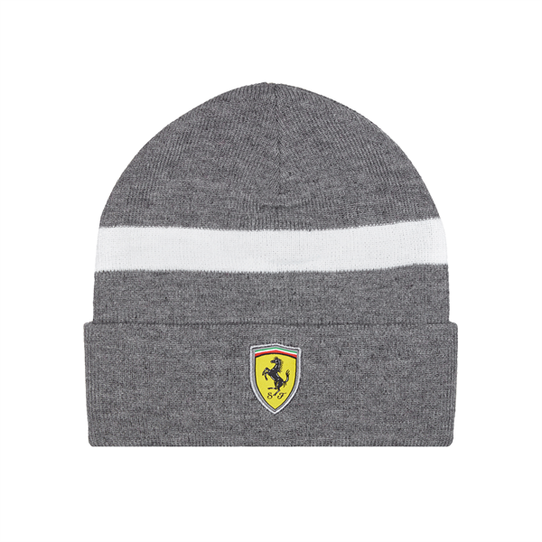 Zimná čiapka Scuderia Ferrari šedá