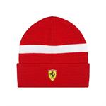 Zimná čiapka Scuderia Ferrari červená