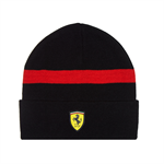Zimná čiapka Scuderia Ferrari čierna