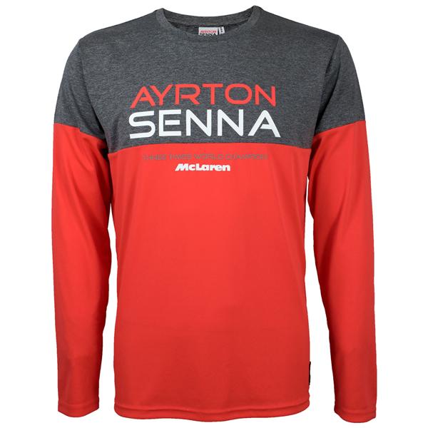 Tričko s dlhým Rukávom Ayrton Senna