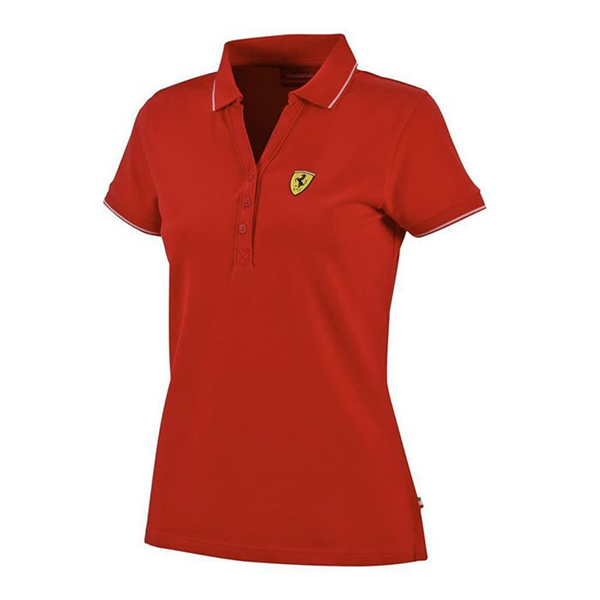 SF FW WOMENS CLASSIC POLO RED