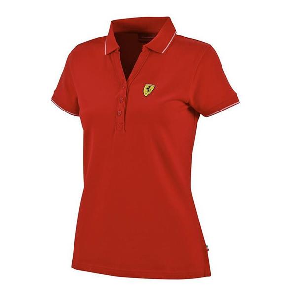 Dámska Pólokošeľa Scuderia Ferrari červená
