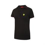 Dámska Pólokošeľa Scuderia Ferrari čierna