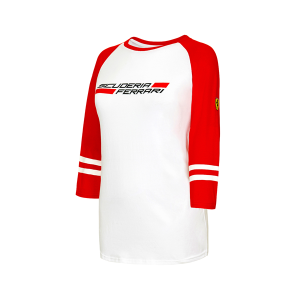 Ferrari F1 Team Ladies 3/4 Longsleeve T-shirt Red