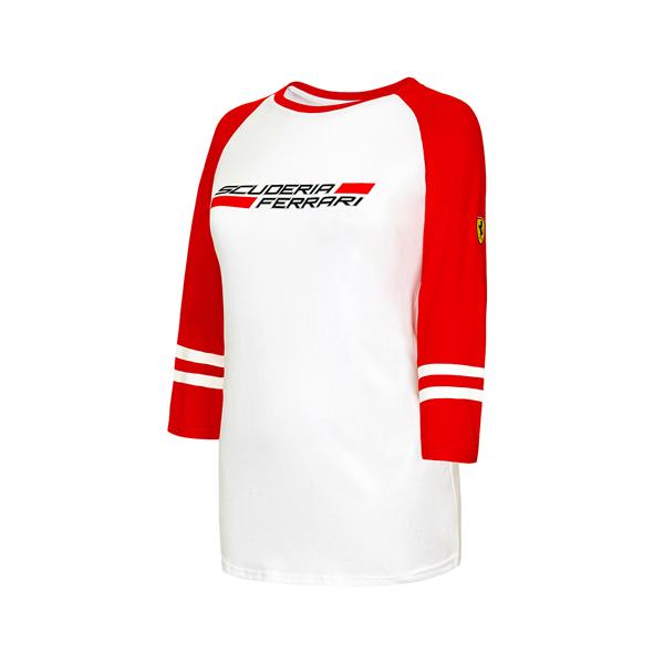 Dámske 3/4 tričko Scuderia Ferrari.