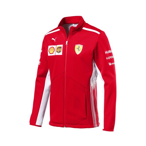 Tímová Softshell Vetrovka Replica Scuderia Ferrari 2018  c2ac67abcc1