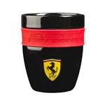 Čierny hrnček Scuderia Ferrari