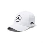 2018 Mercedes AMG Petronas Lewis Hamilton Baseball Cap white