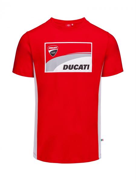Tričko Ducati Corse červené