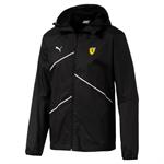 Ľahká vetrovka Sucderia Ferrari čierna