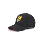Ferrari F1 Team Quilt Baseball Cap Black