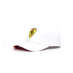 2018 Ferrari F1 Team Quilt Baseball Cap White