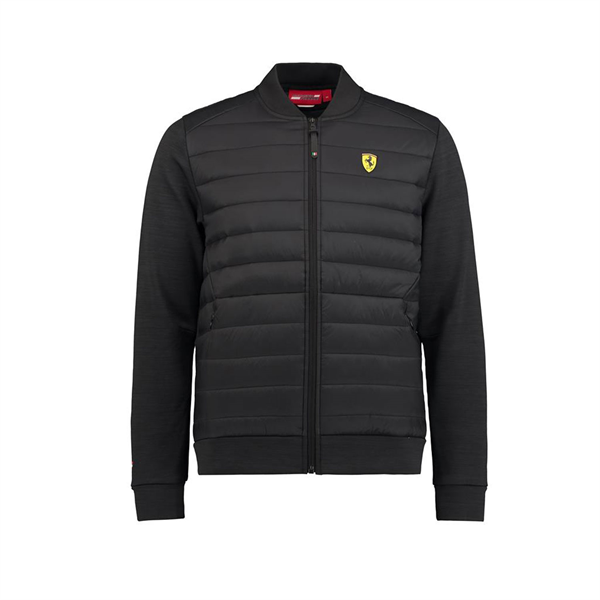 2018 Scuderia Ferrari F1 Team Hybrid Jacket Black