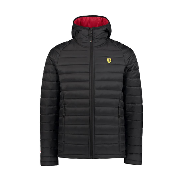 2018 Scuderia Ferrari F1 Team Padded Jacket Black