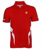 Pánska Polo Košeľa Puma Ferrari červená