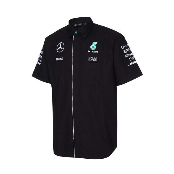 Košeľa AMG Mercedes Petronas čierna