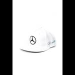 Šiltovka Mercedes AMG PETRONAS Lewis Hamilton biela Flat Cap