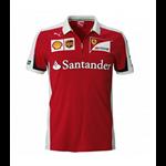 Dámske tričko Scuderia Ferrari V - neck biele