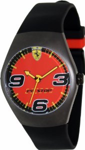 Hodinky Ferrari Pitstop čierno červené