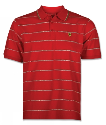 Scuderia Ferrari Polo Italy Stripes