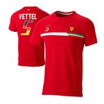 Dámske tričko Ferrari Sebastian Vettel
