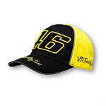 Šiltovka CAP 46 BLACK/YELLOW FIRMA MAN