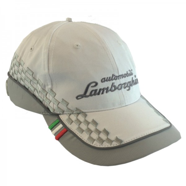 Šiltovka Lamborghini PILOTA UFFICIALE SQ.CORSE CAP White