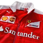 Tímova Vetrovka Softshell Scuderia Ferrari Replica