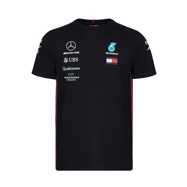 Mercedes AMG Petronas Motorsport Mens Team T-shirt Black