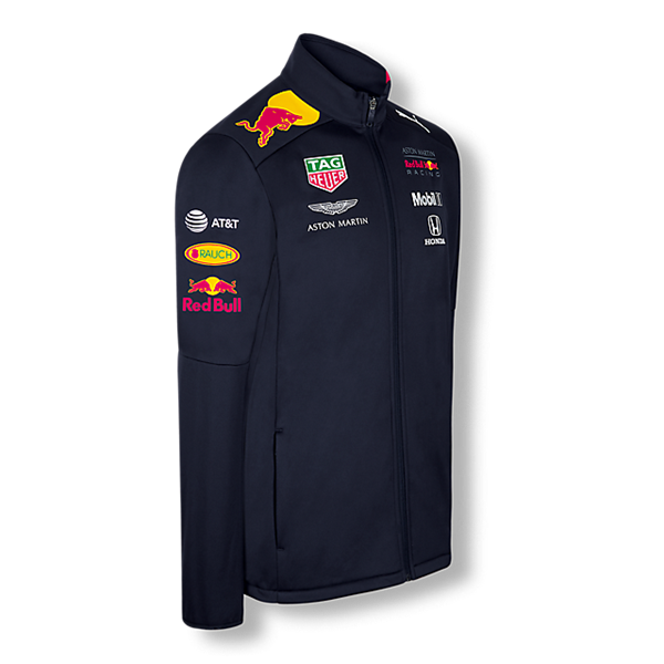 Tímová Softshell Vetrovka Aston Martin Red Bull Racing