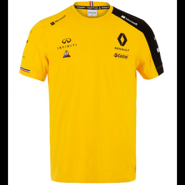Renault Team F1 T-Shirt Yellow 2019
