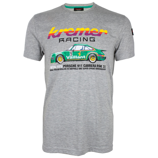 Kremer Racing T-Shirt Porsche 911 Carrera No. 9