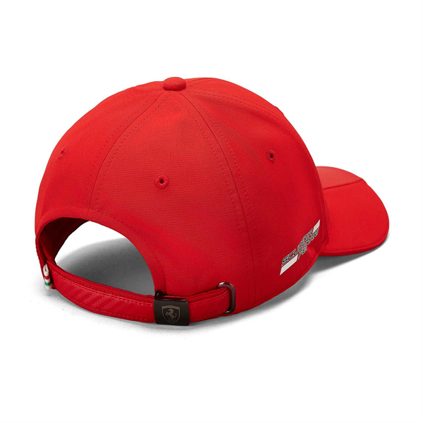 Scuderia Ferrari Mens Carbon baseball cap red