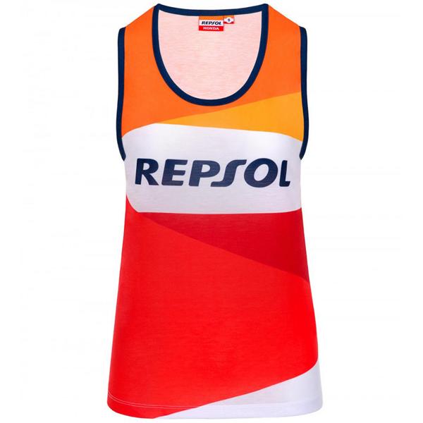 Repsol Honda Ladies Tank Top Womens Vest Top