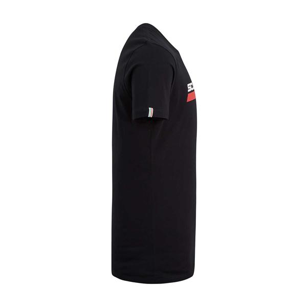 Tričko Scuderia Ferrari s nápisom čierné