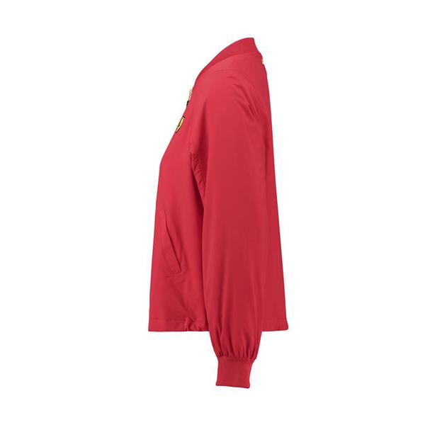 Dámska Ľahka Vetrvoka Ferrari Bomber červená