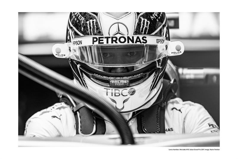 Plagát Mercedes Lewis Hamilton