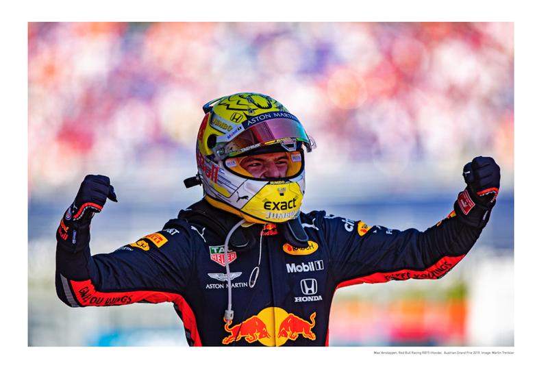 Plagát Red Bull Max Verstappen