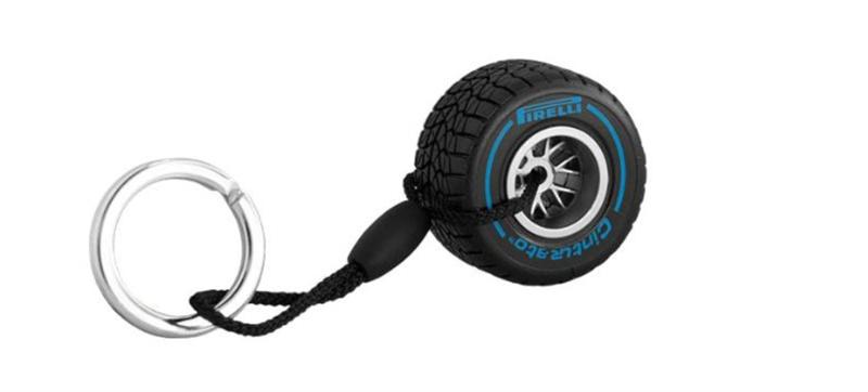 Klúčenka Pirelli modrá do silného dažďa
