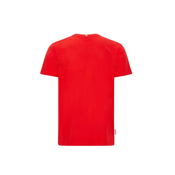 Tričko Scuderia Ferrari Checkered červené