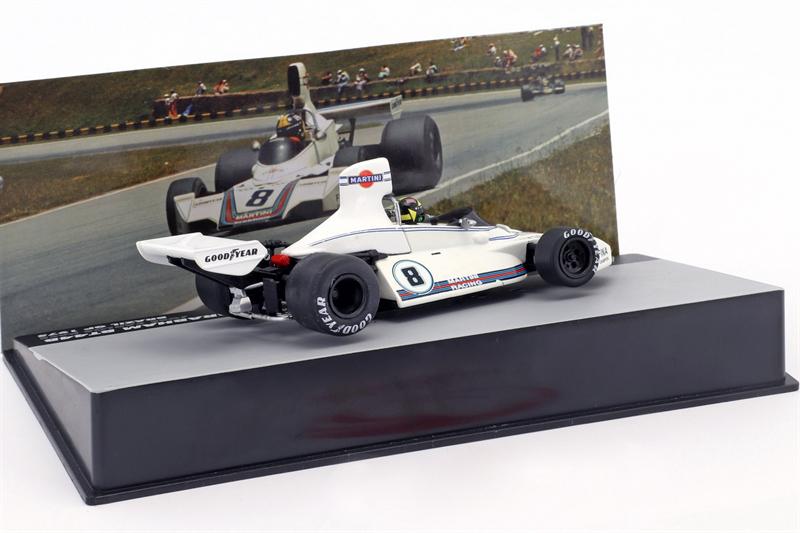 Carlos Pace Brabham BT44B #8 Winner GP Brazil Formula 1 1975 1/43