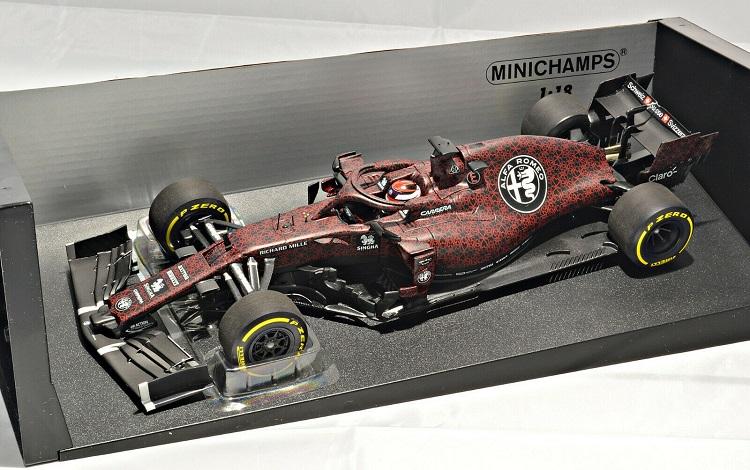 MINICHAMPS MODEL Alfa Romeo C38 Kimi Raikkonen Fiarona 14 Februára