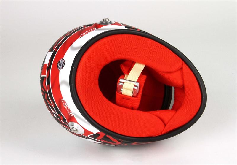 Helma Scuderia Ferrari jazdca Charles Leclerc  rozmer 1:2