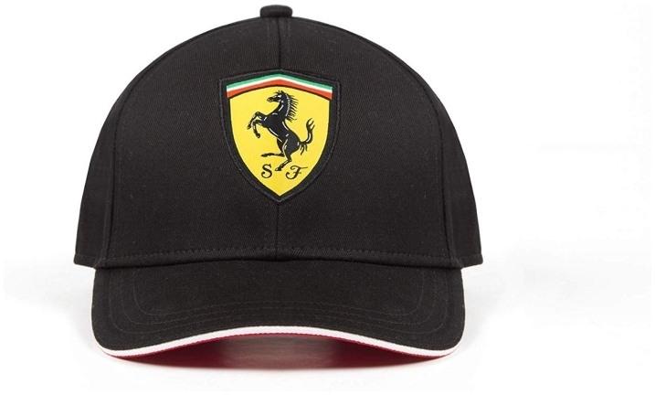 Detská šiltovka Scuderia Ferrari čierna