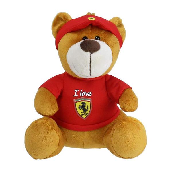 Plyšový medvedík Scuderia Ferrari Flag 30cm